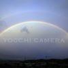 長月の終わり。空にかかる大きな大きな虹を見上げて🎵